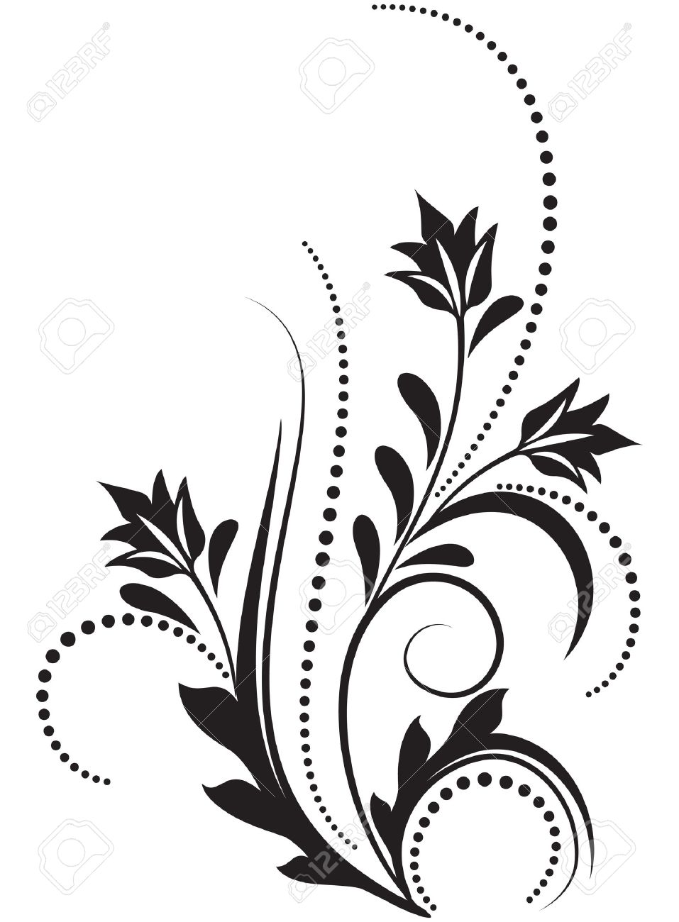 Decorative ornament for various design artwork stock vector 10228512
