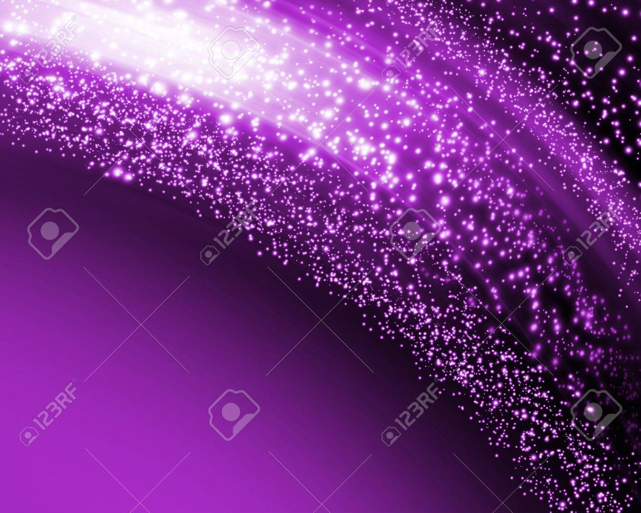 Abstract glowing background with stars Stock Photo - 11818708