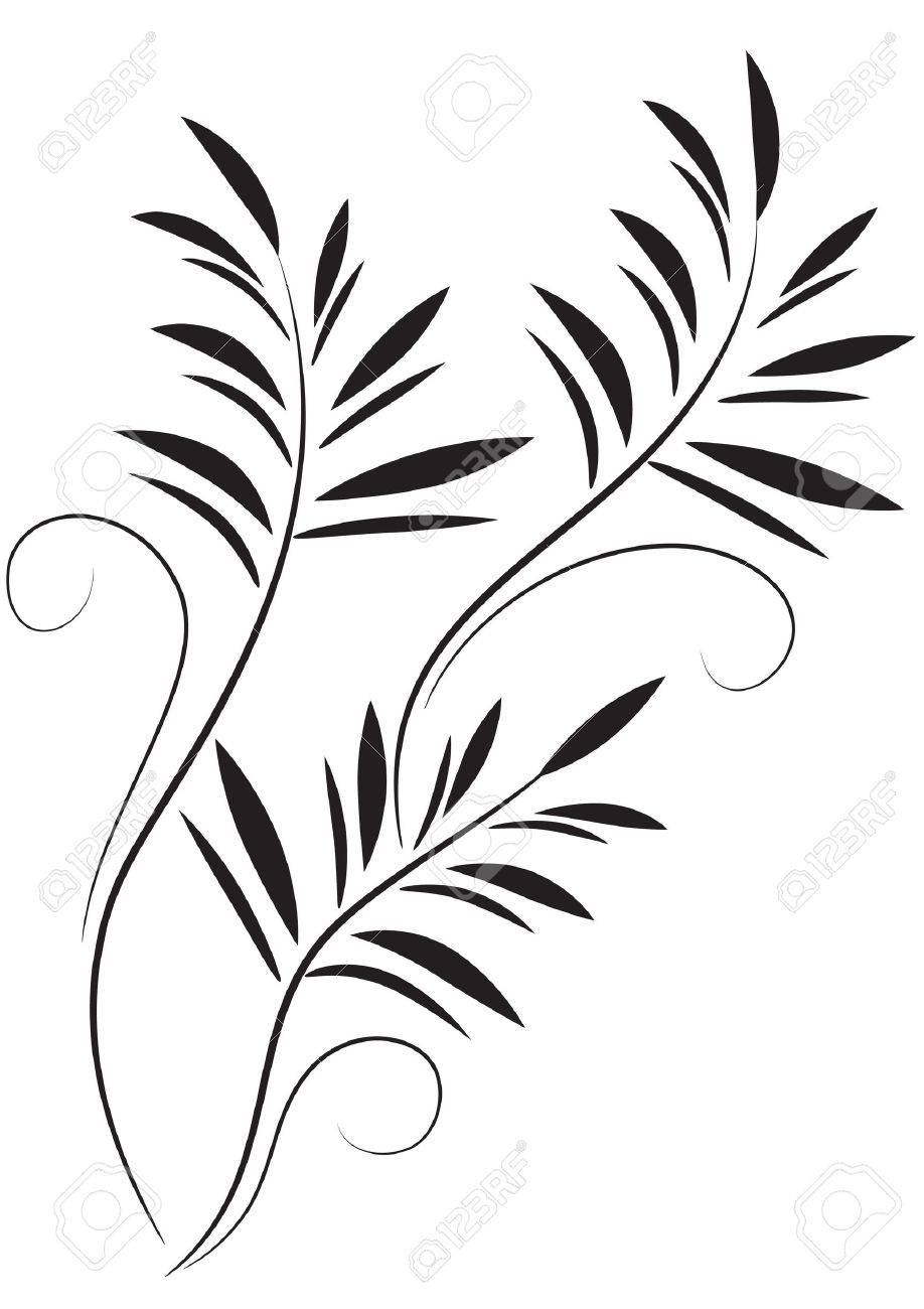decorative flowers ornament stock vector 12808972 - Decorative Flowers