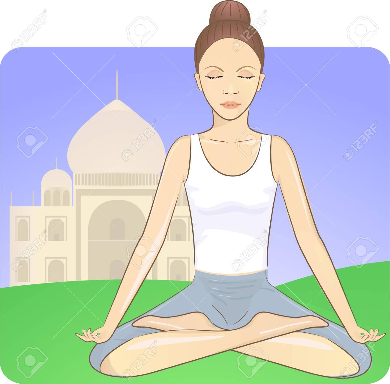 meditation Stock Vector - 17962864