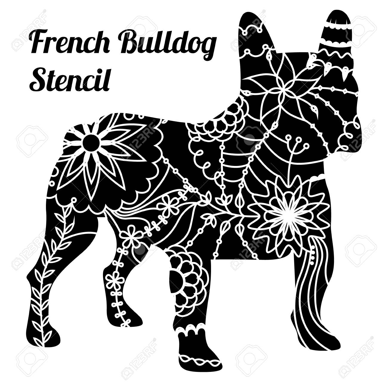Stencil Bulldog pictures forecast to wear for spring in 2019