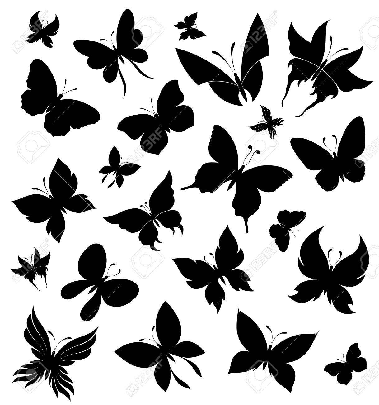 Set of butterflies Stock Vector - 8489272