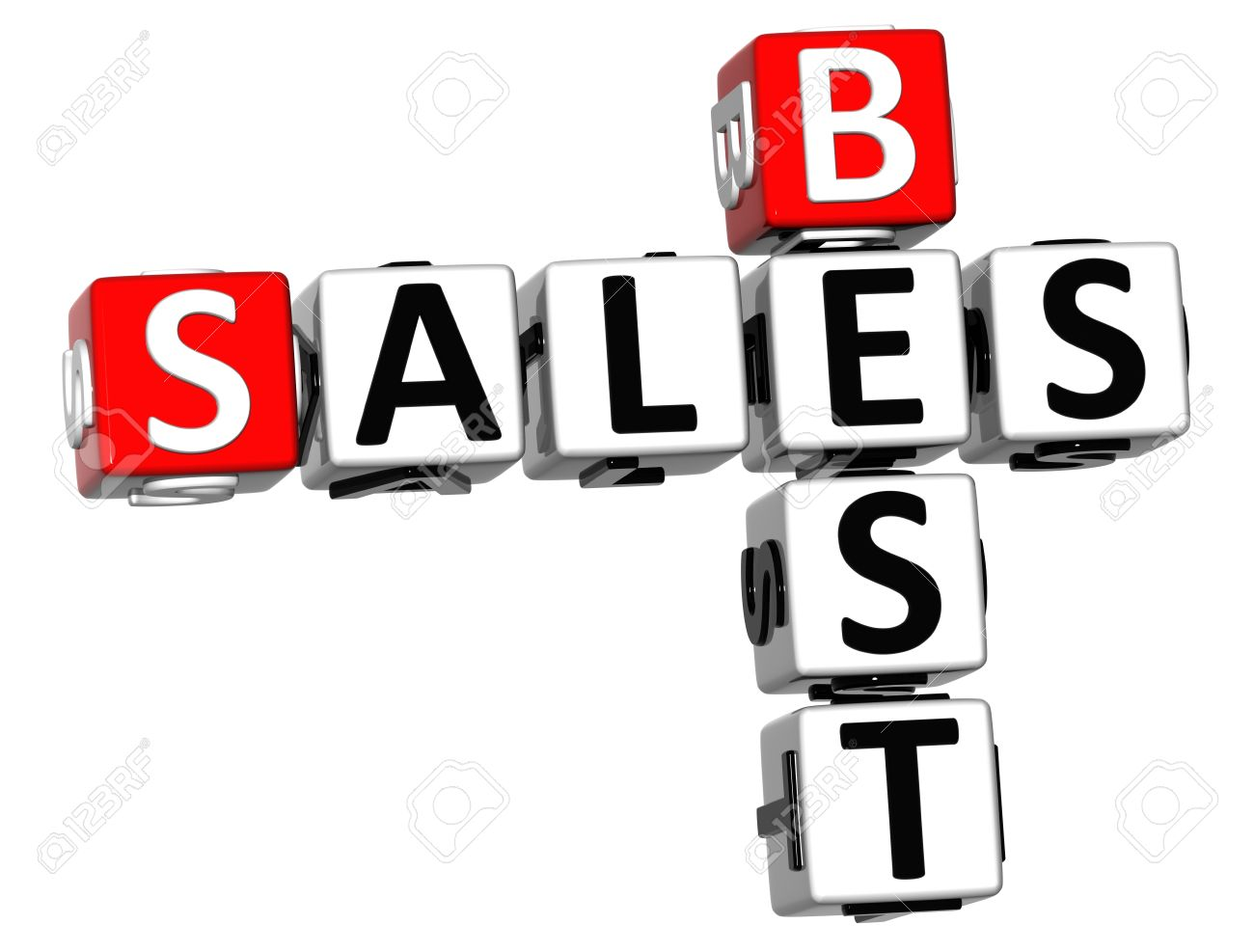 3d best sales crossword on white background stock photo picture and rh 123rf com best sales jobs uk best sales jobs