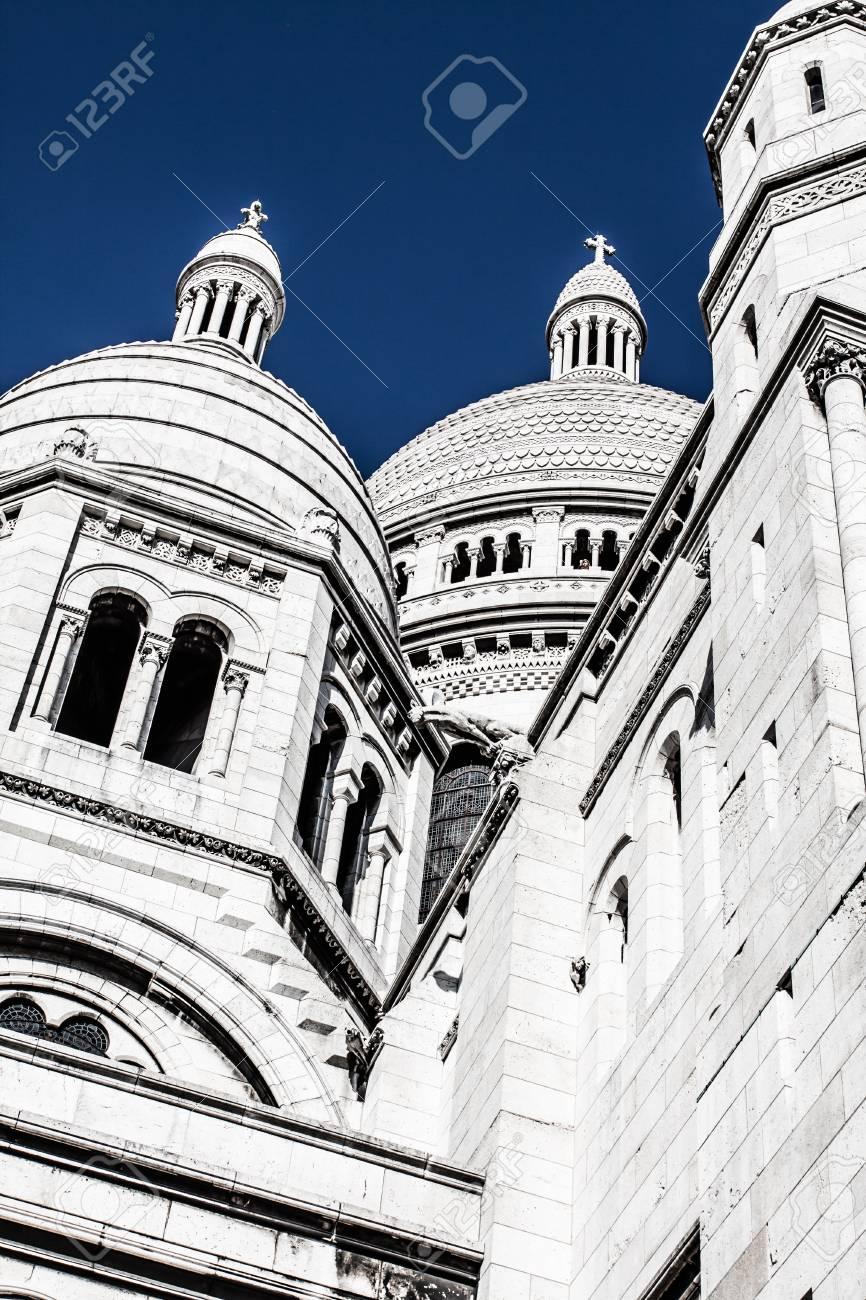 Sacre Coeur, Montmartre, Paris, France ( HDR image ) Stock Photo - 17291759