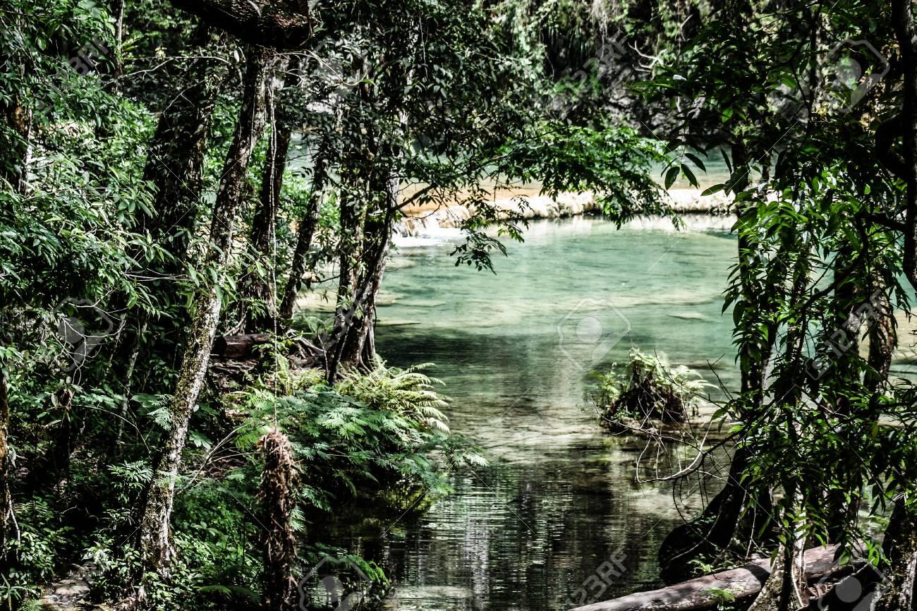 Semuc champey Guatemala paradise - 17651122