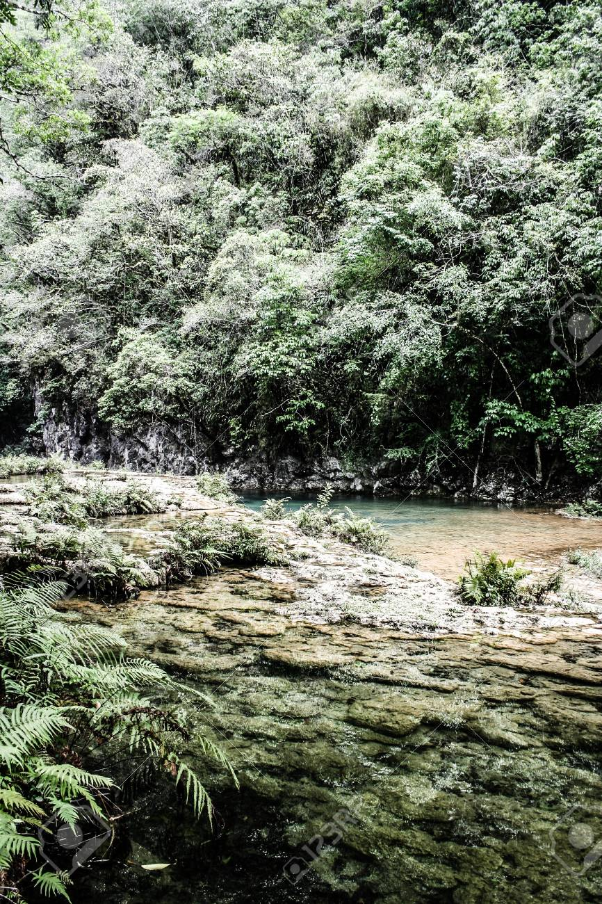 Semuc champey Guatemala paradise - 17653429
