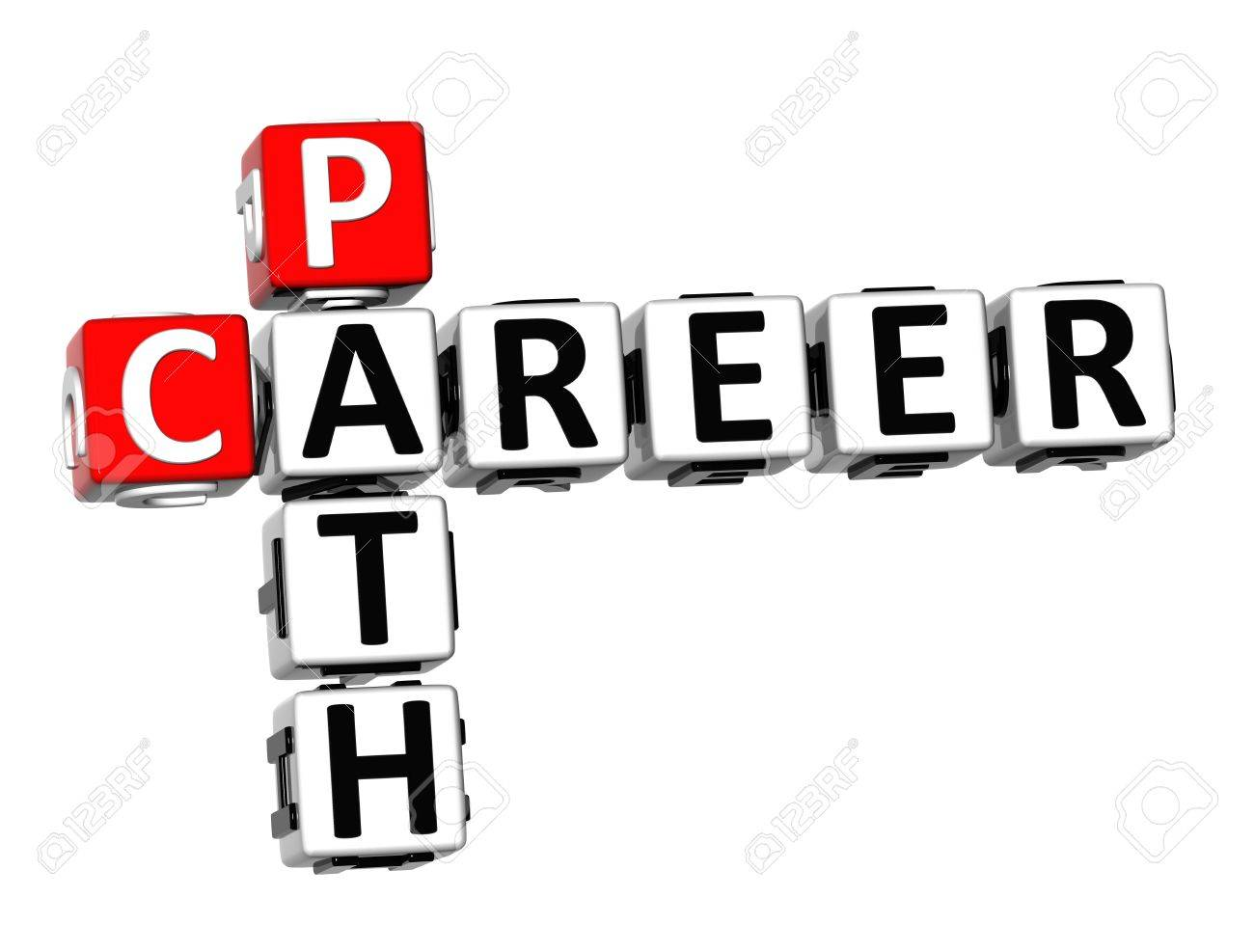career plan your career stock photos pictures royalty career plan your career 3d crossword career path on white background stock photo