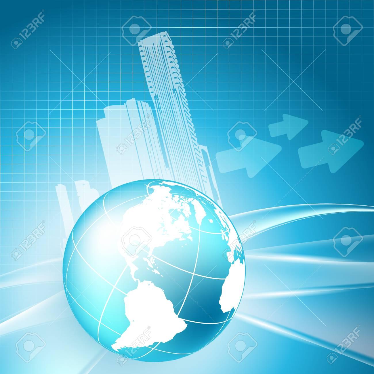 Abstrakte Immobilien Wachstumsgeschäft Rahmen. Lizenzfrei Nutzbare ...