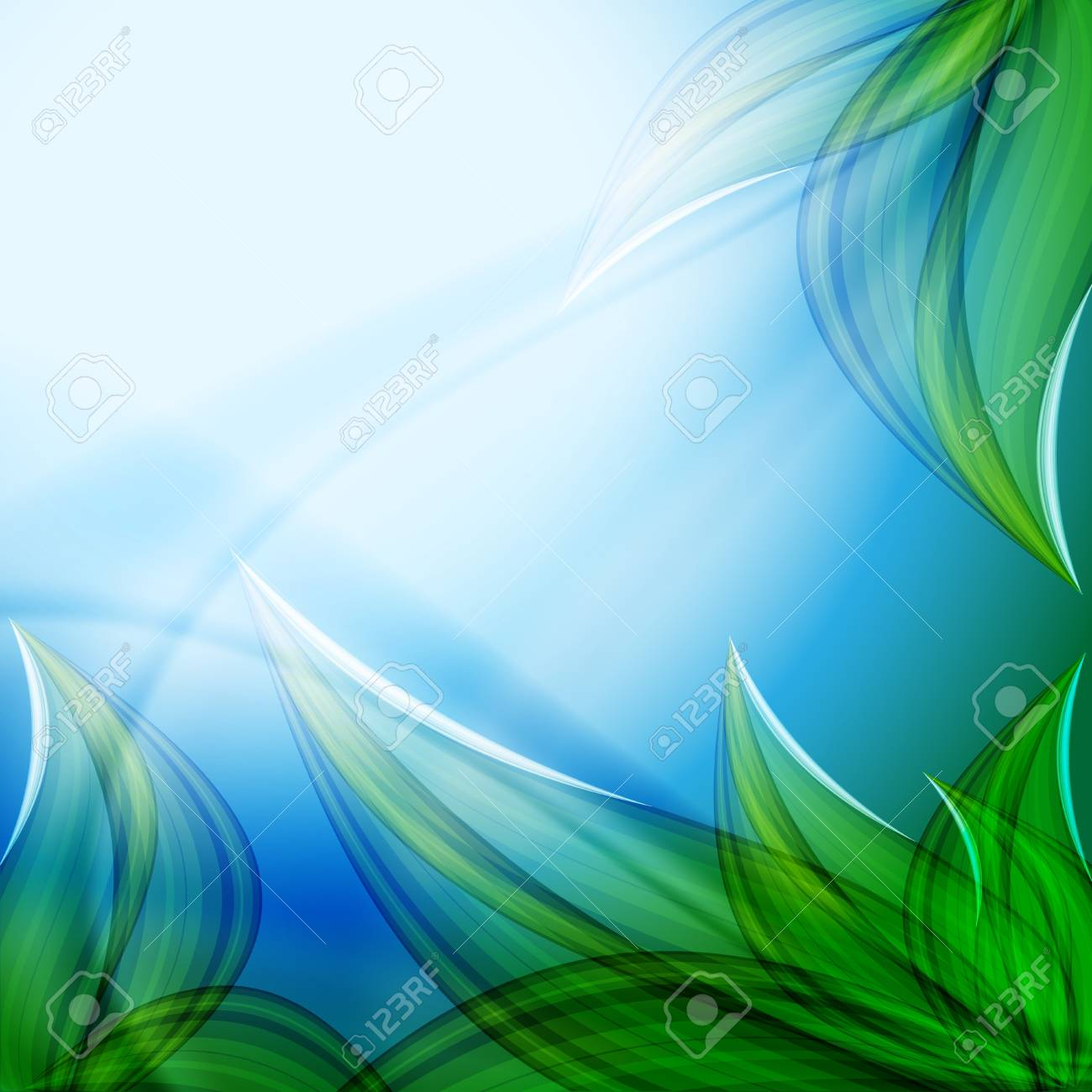 beautiful abstract floral  background. Stock Vector - 17257150