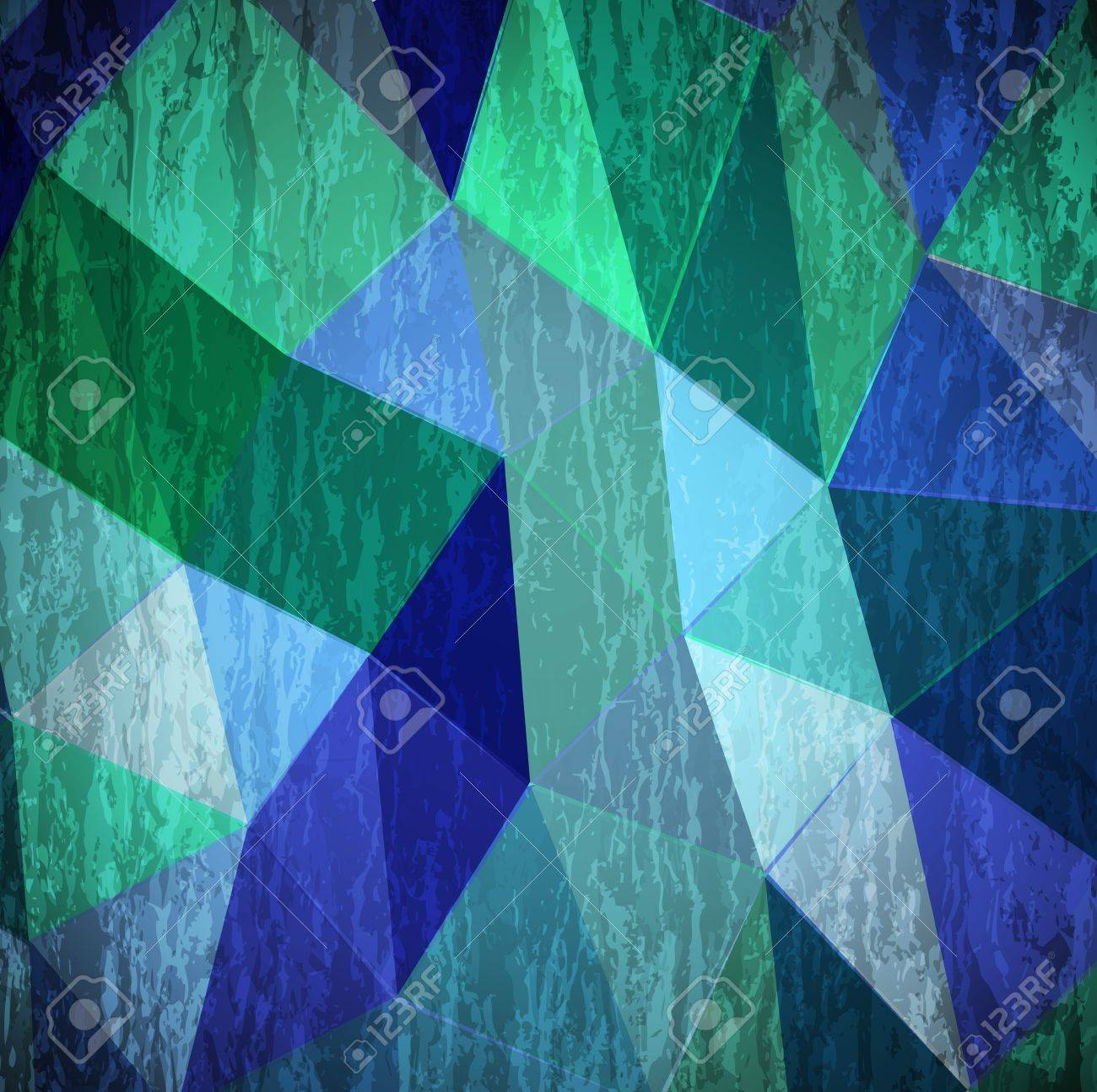 Abstract cyan grunge background Stock Vector - 14091460