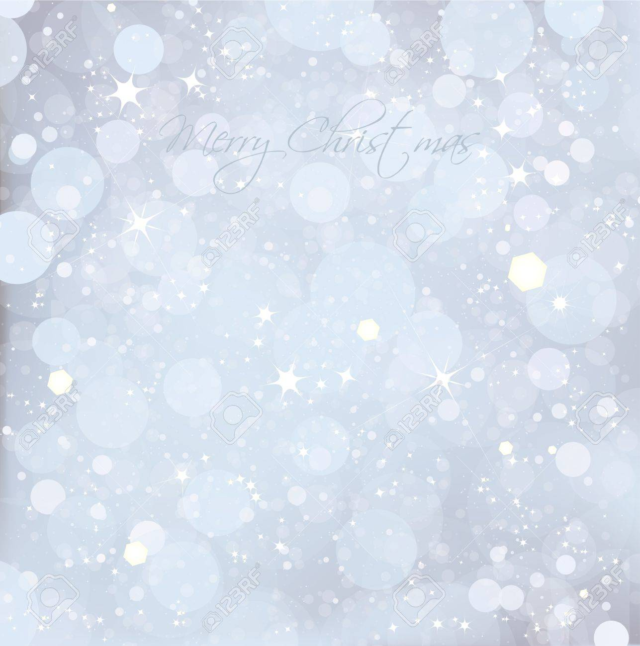 Abstract Christmas snow blue background  Vector Stock Vector - 14882802