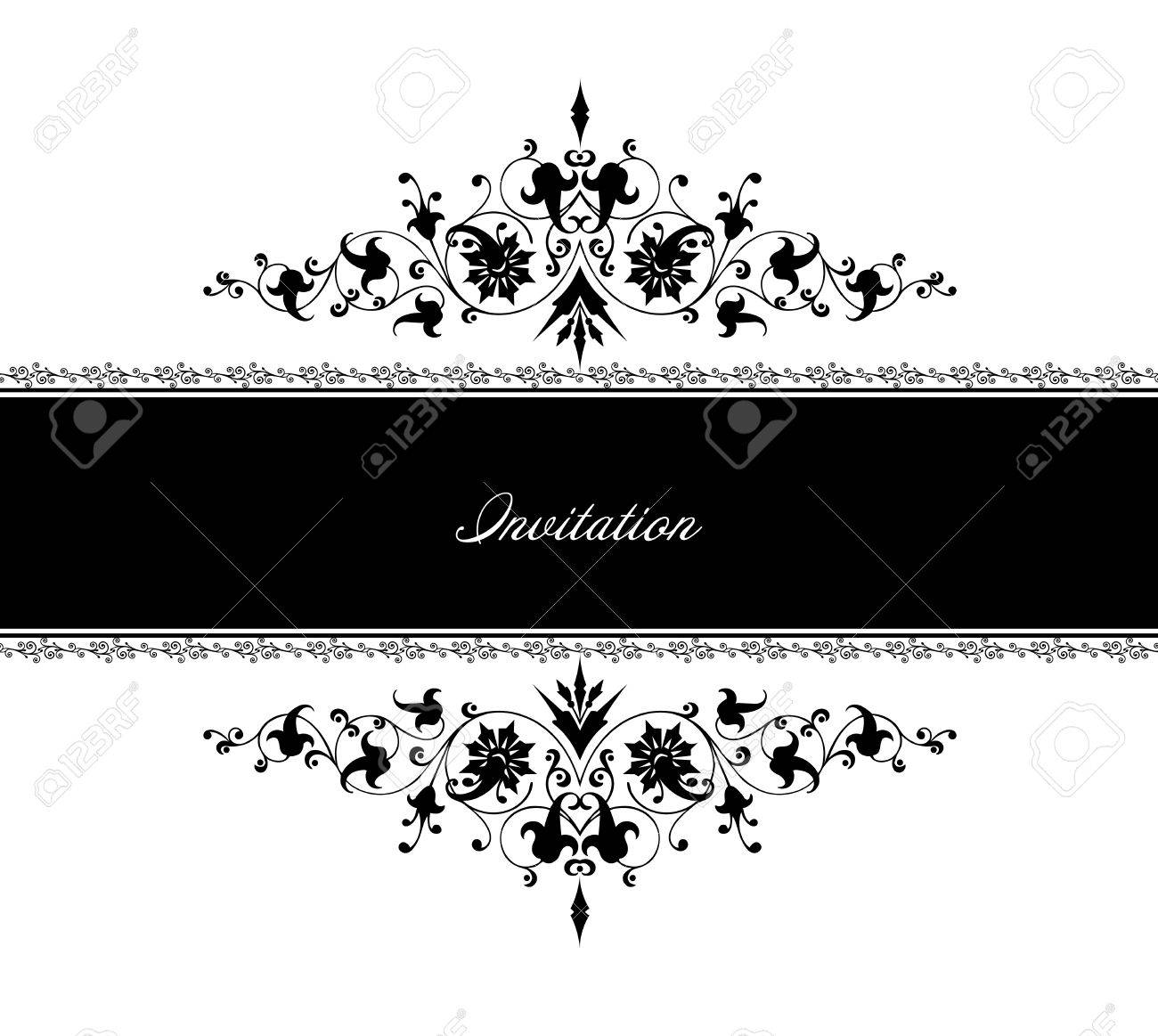 Vintage frame decor  Vector illustration Stock Vector - 15215345