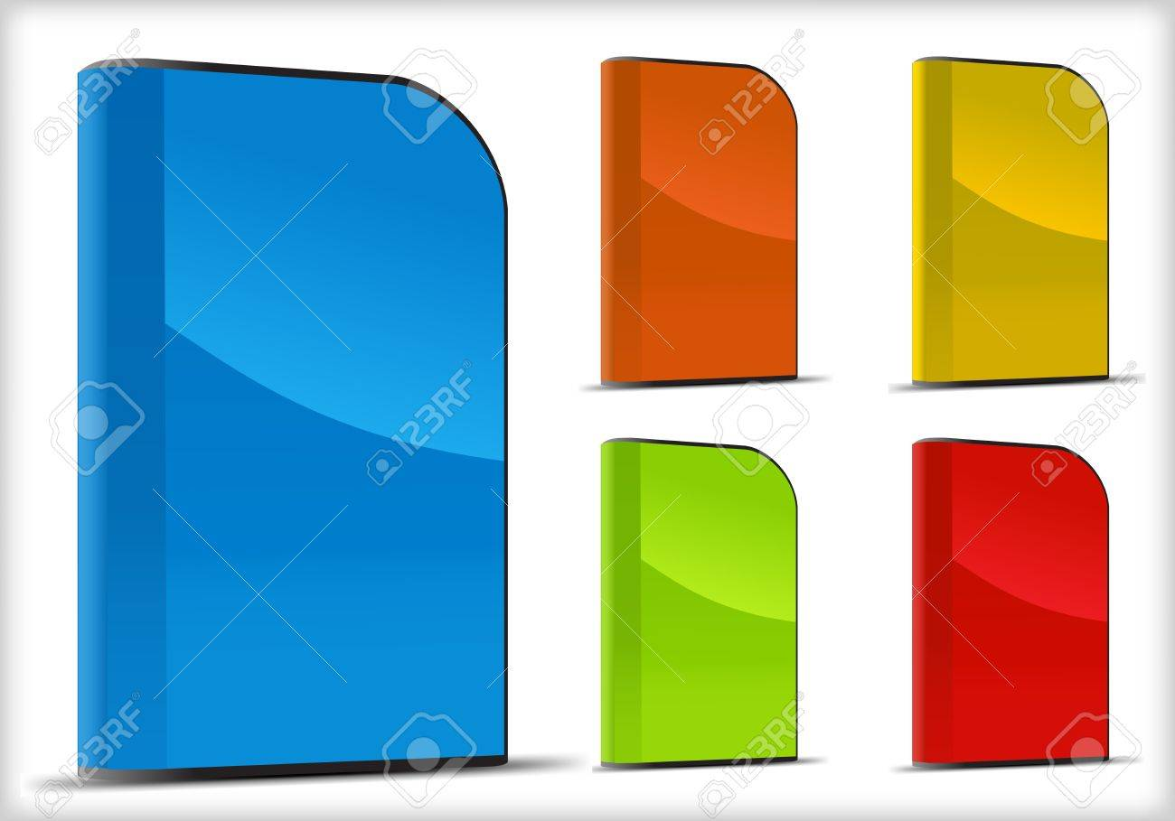 Vector set of software boxes Stock Vector - 15577934
