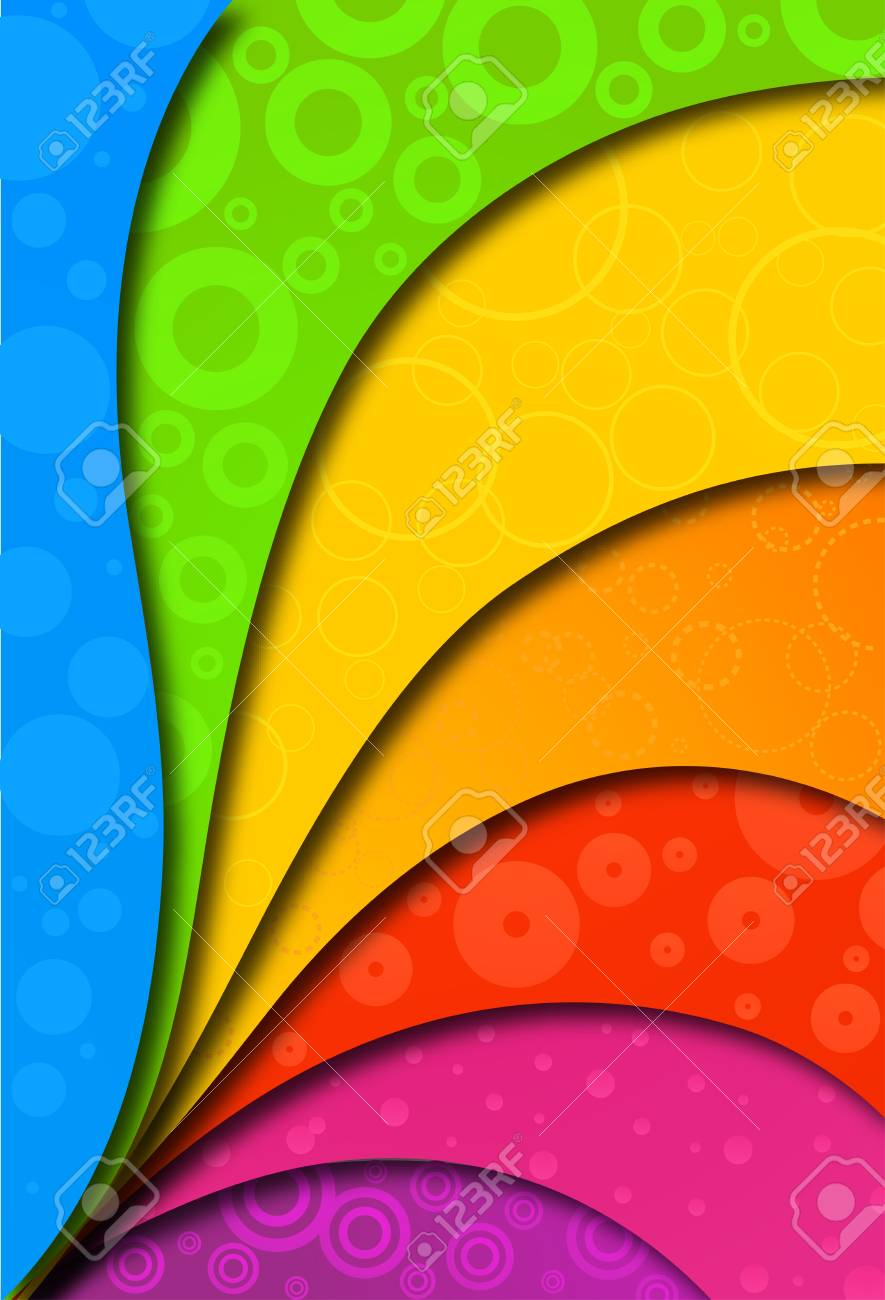 Abstract colorful background for design Stock Vector - 17367022