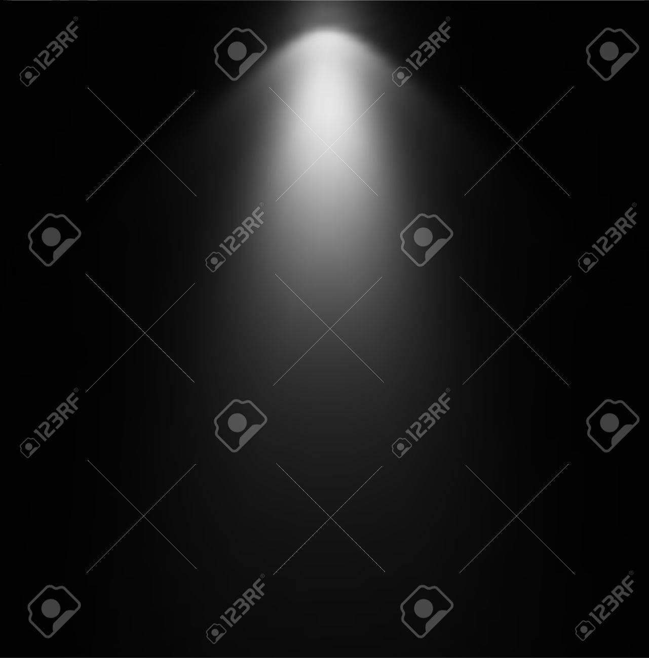 Light Beam From Projector  Vector illustration Stock Vector - 20161943