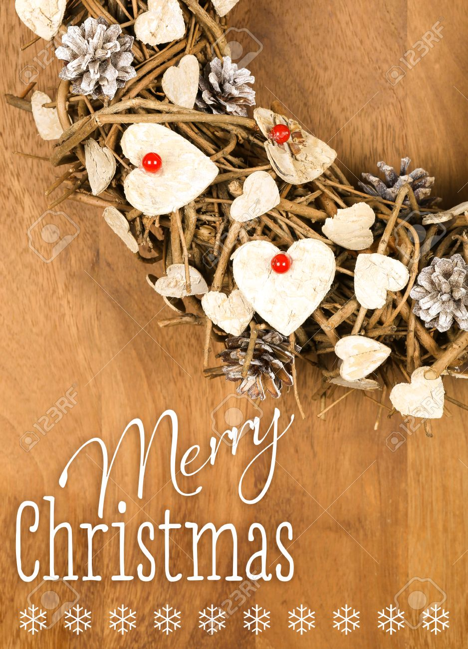 Frohe Weihnachten Shabby.Stock Photo