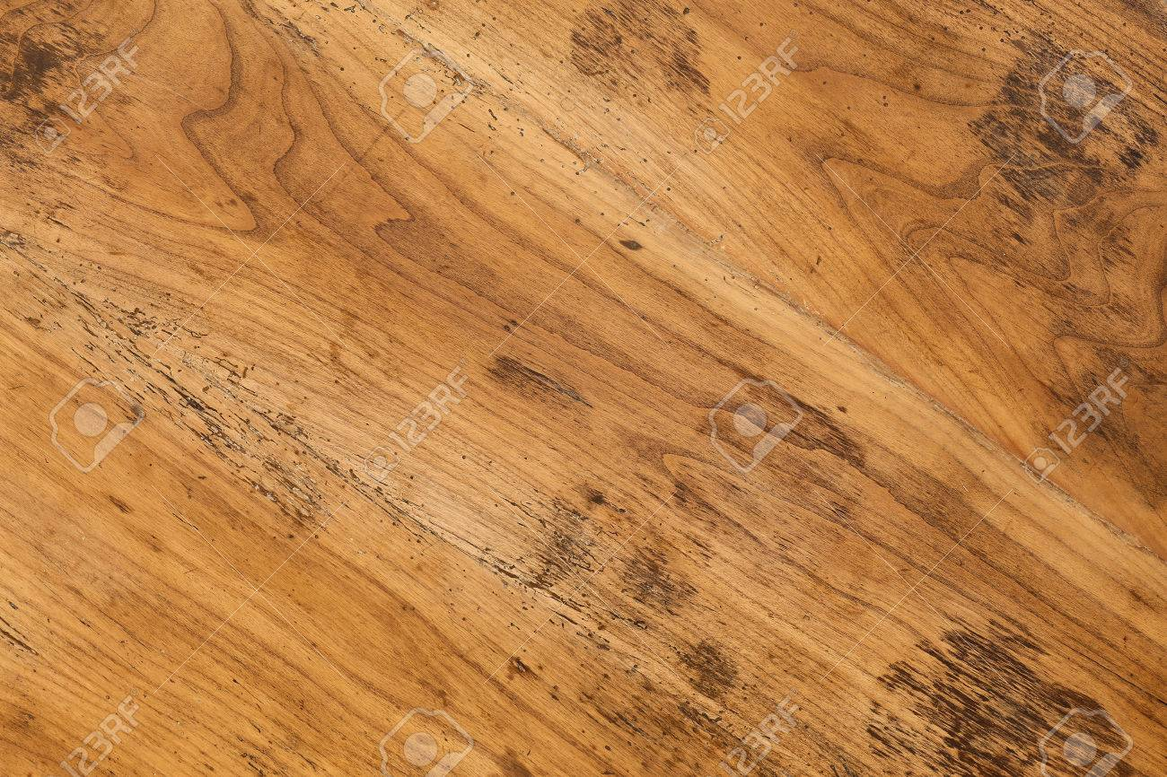 Old Antique Mahogany Wooden Table Top Background Full Of Wood Worm Holes  Stock Photo   65287272