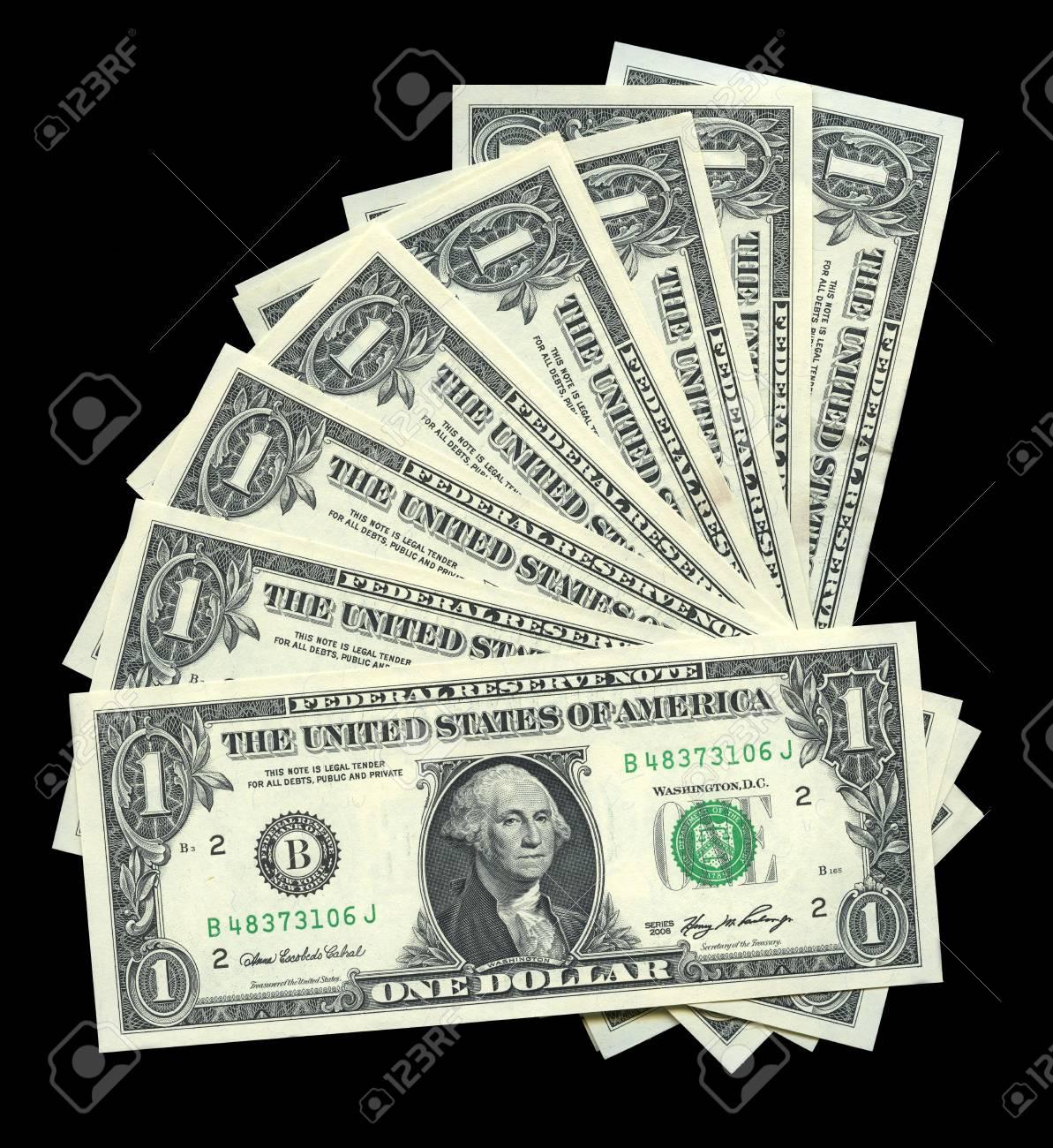 Photo of one dollar bill