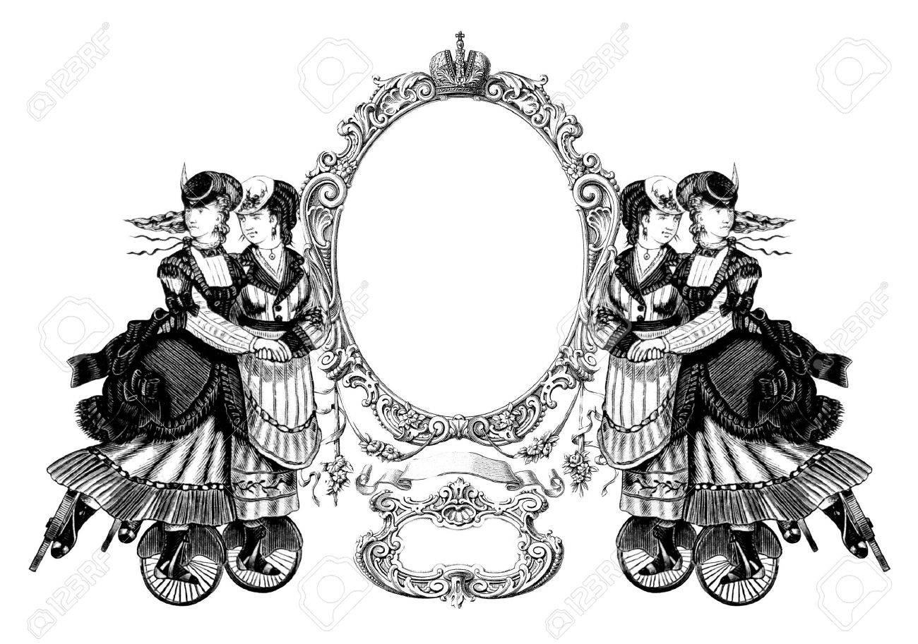 Ausgezeichnet Viktorianischen Frame Unternehmen Bilder ...