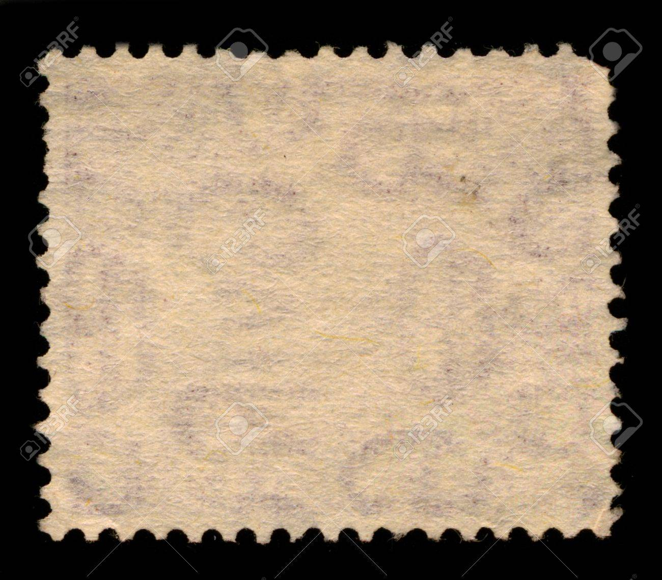 The reverse side of a postage stamp. Stock Photo - 9072543
