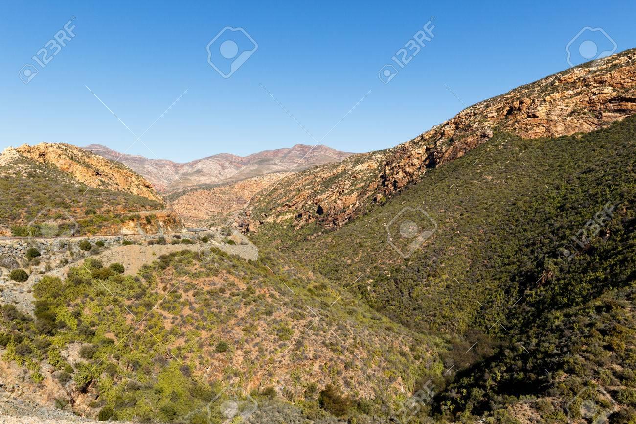 道路や山の風景 - 南アフリカ共...