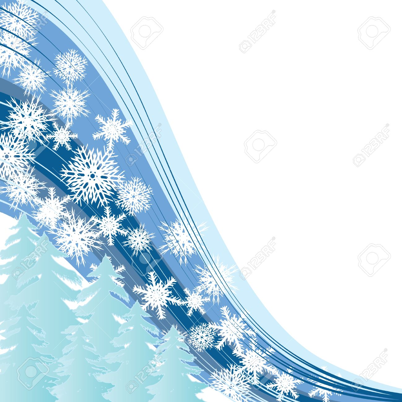 vector white snow merry christmas and happy new year background for your greetings card