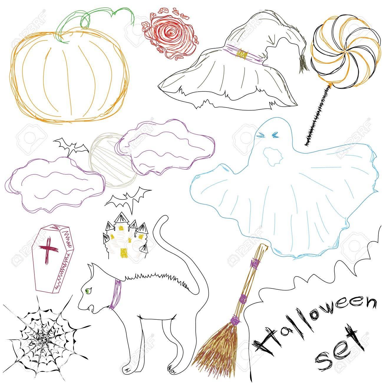 Symbole a Halloween Kollektion