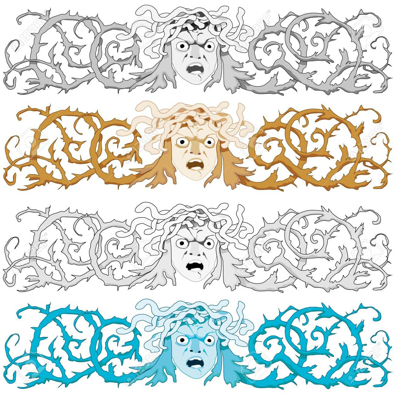 medusa head stock photos royalty free medusa head images and pictures