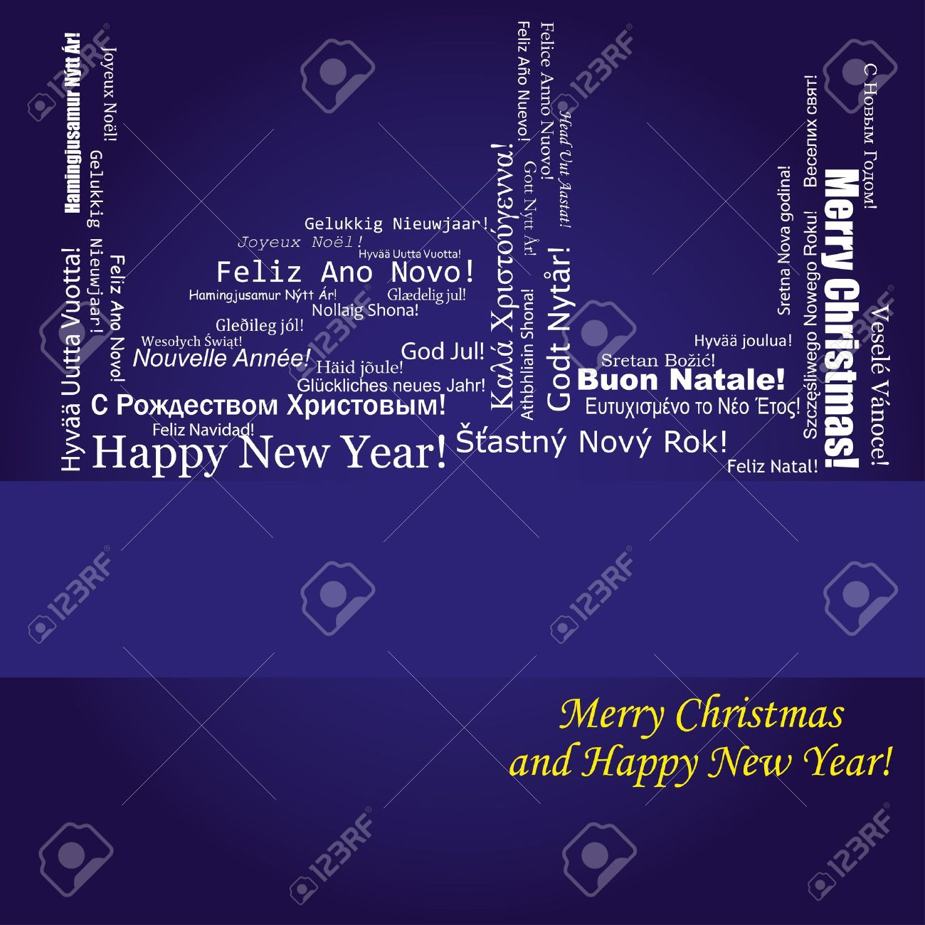 merry christmas and happy new year in swedish