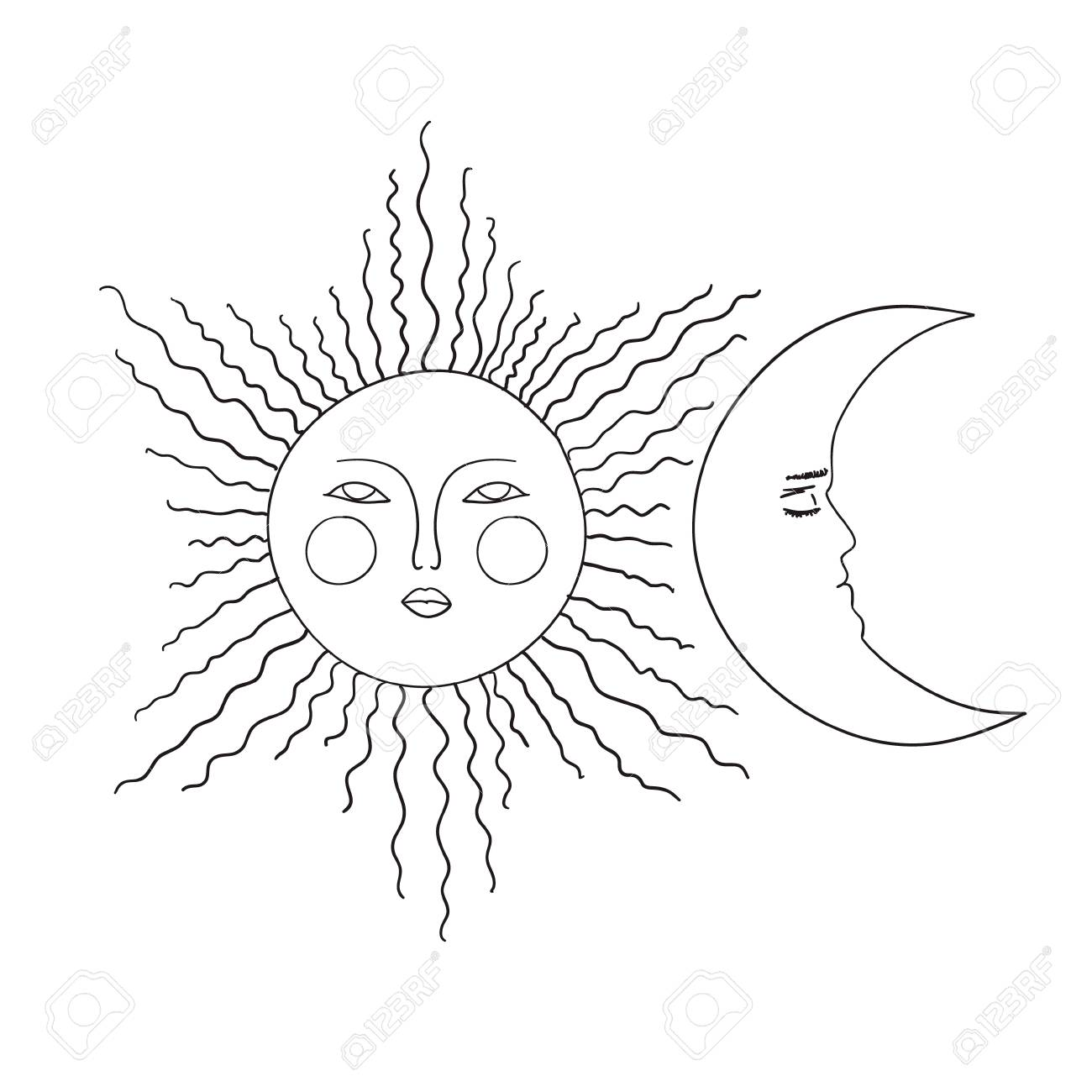 Free Sun Clipart Black and White Pictures - Clipartix in 2020   Clip art, Clipart  black and white, Black and white pictures