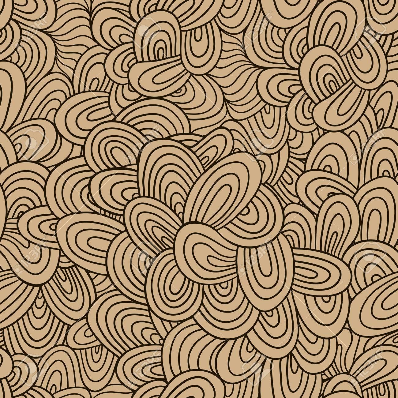 nahtlose wellenhandgezeichnete muster wellen hintergrund nahtlose fliesen kann fr tapeten muster - Tapeten Mit Muster