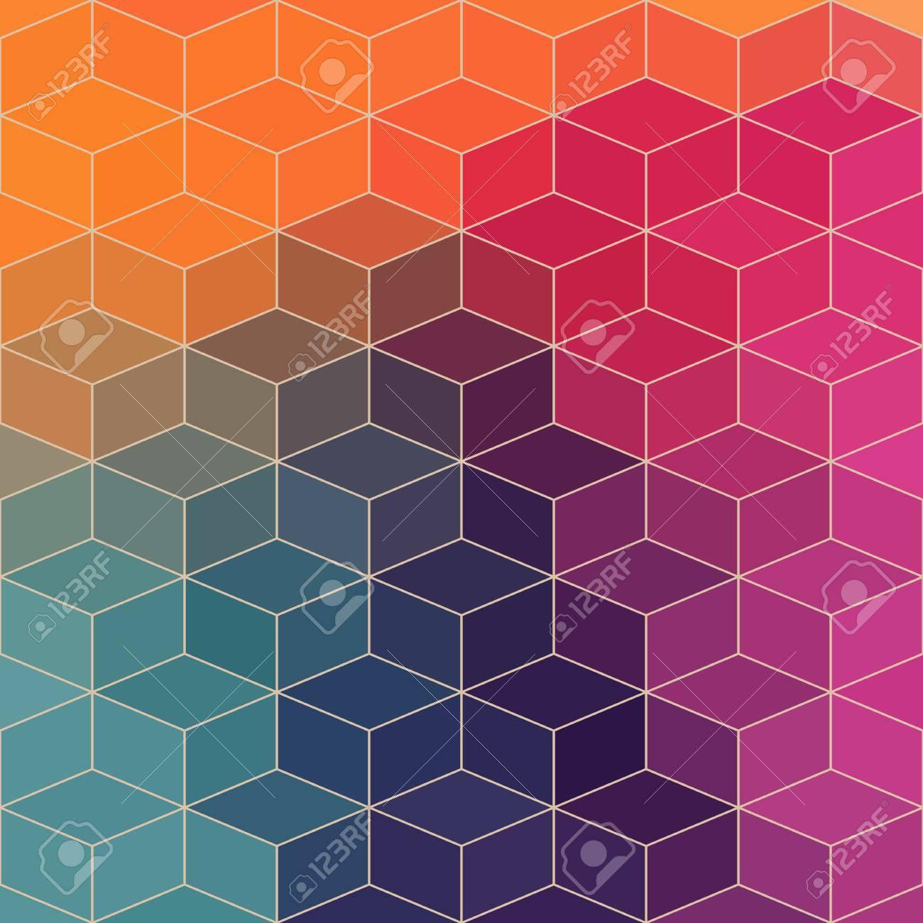 Vecteur Motif Géométrique Avec Des Formes Géométriques Losange Ce - Carrelage losange
