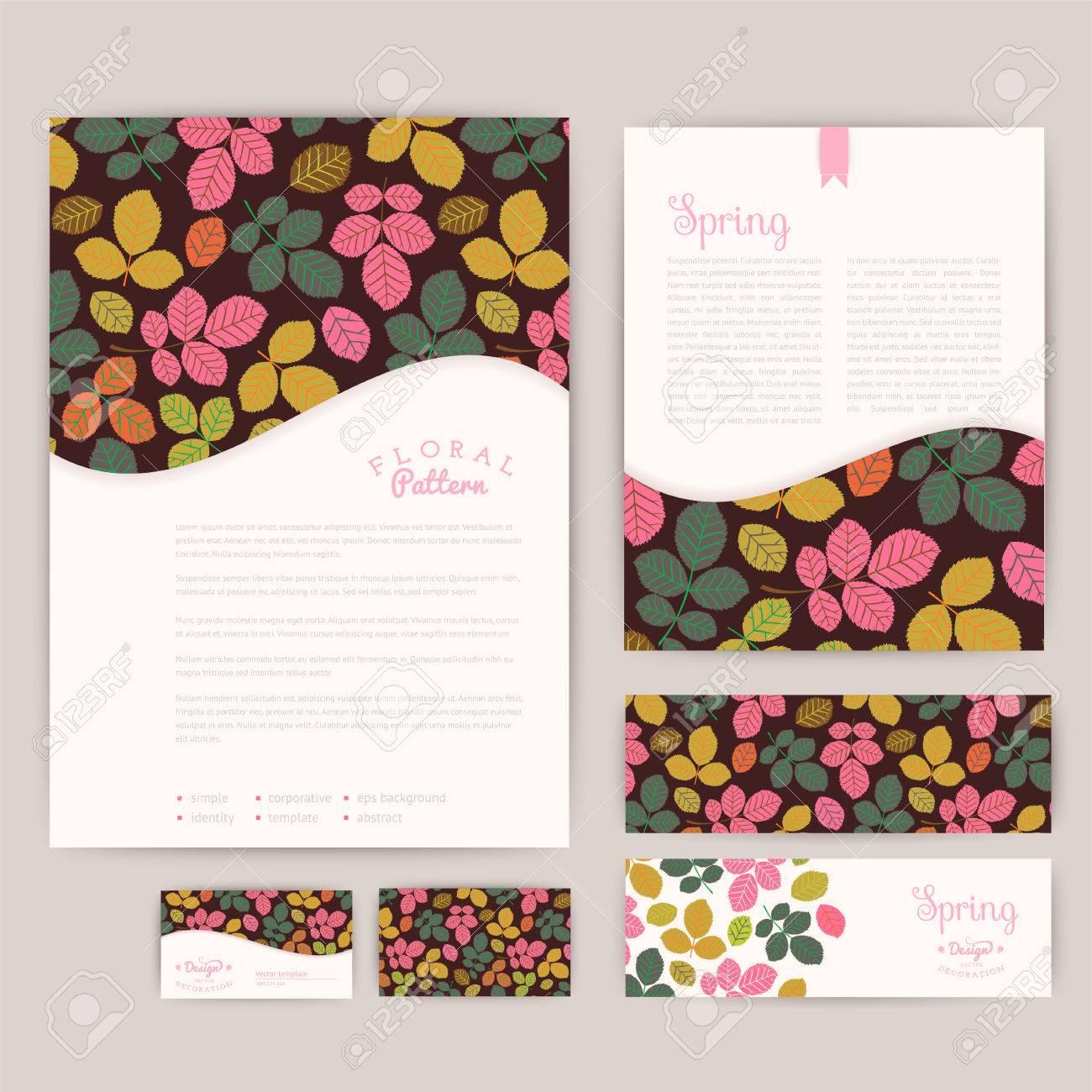 Set Of Floral Vintage Wedding Cards Invitations Wedding – Floral Vintage Wedding Invitations
