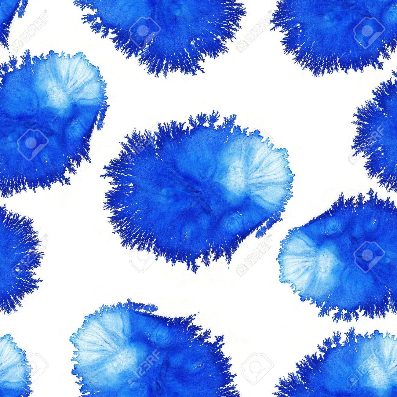 farben aquarell blaue muster runde aquarellflecken aquarell rundet hintergrund - Rentabilittsvorschau Muster