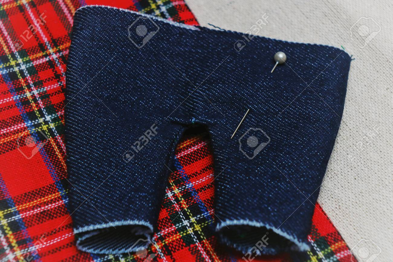 made by hand sewing small pants for a doll  Needlework  Handmade