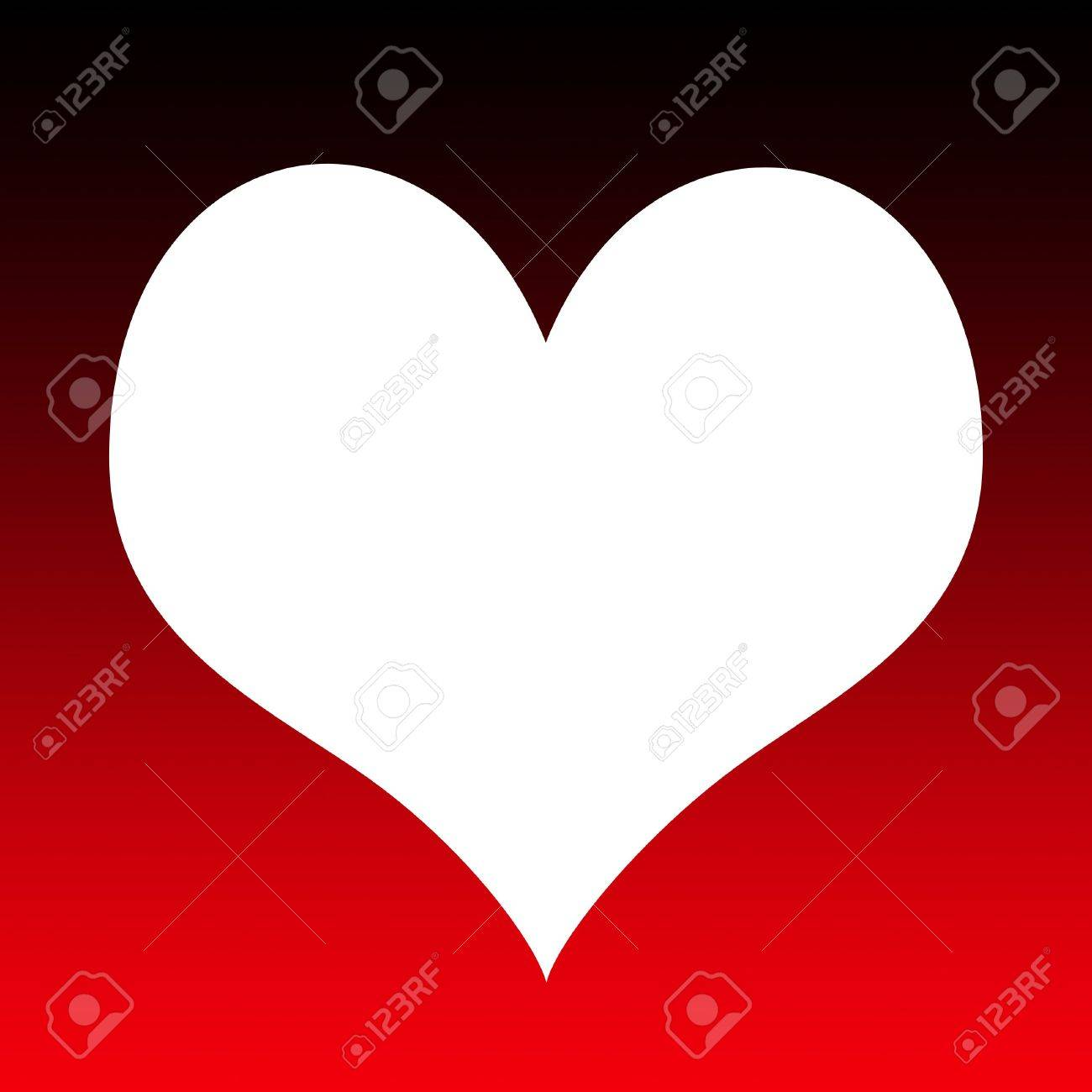 valentine heart outline with copy space stock photo picture and