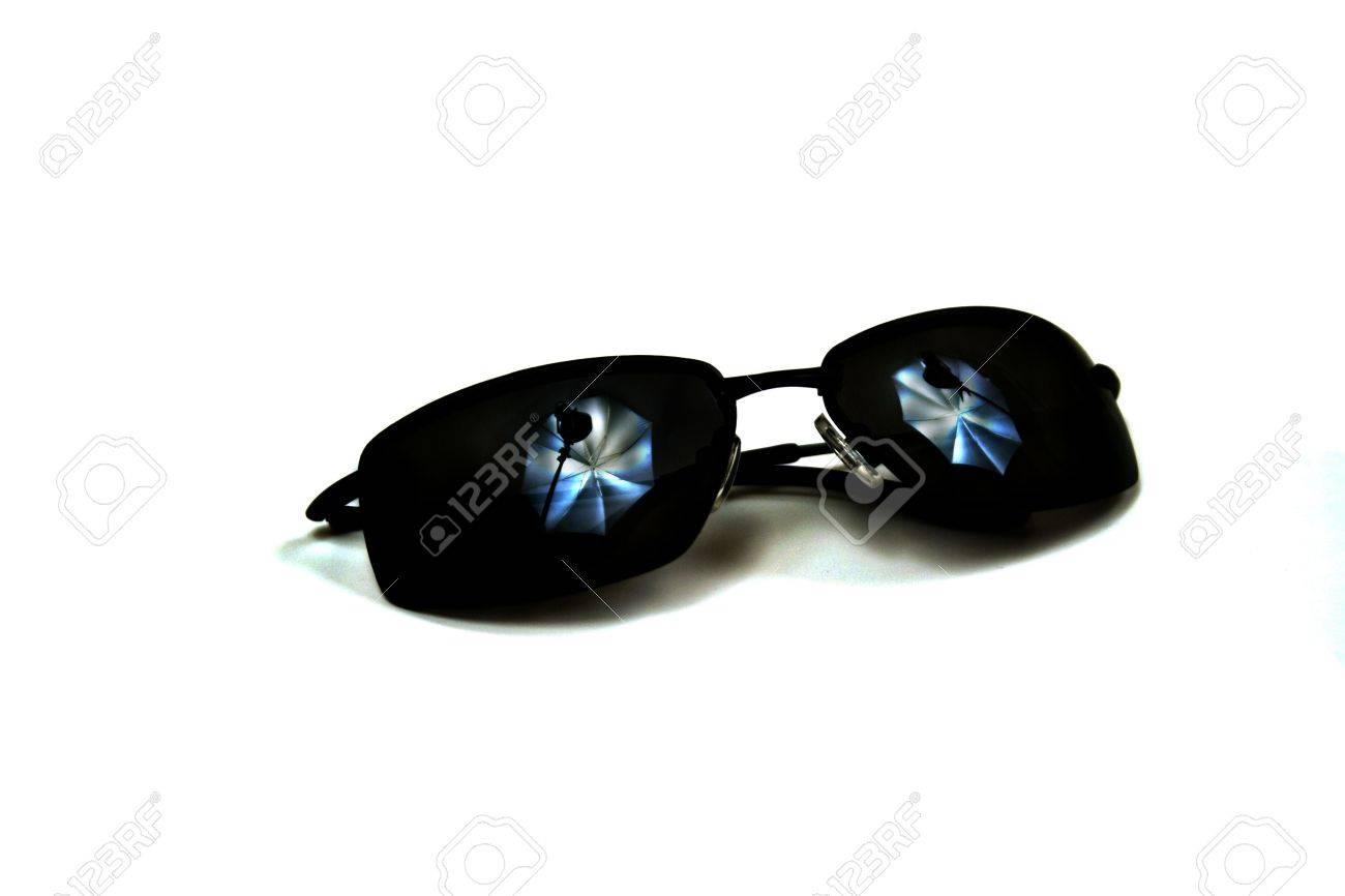 Immagini stock occhiali da sole con lo studio illuminazione di