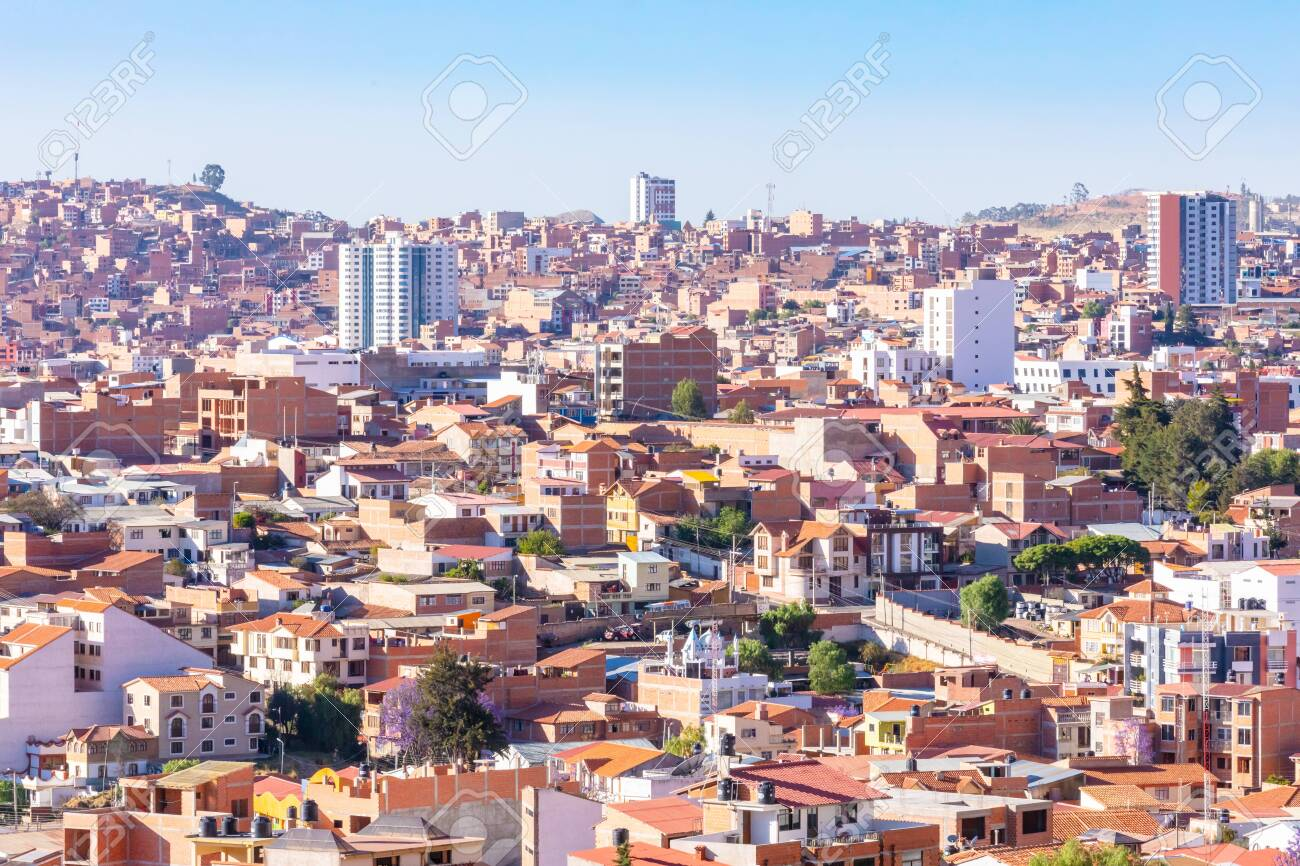 Sucre Bolivia October 18 2019 Panoramic View Of Sucre Capital Stock Photo Picture And Royalty Free Image Image 136650927