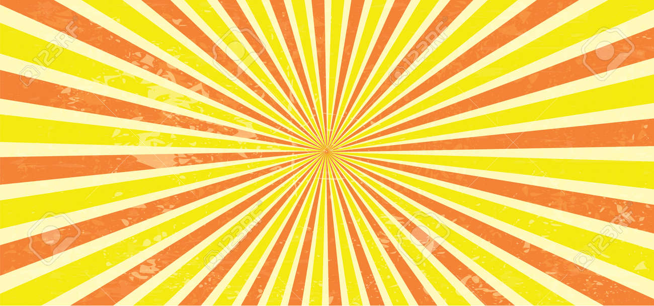 Starburst style shapes Stripes retro pop art 80's 70's years background Funny vector comic clipart line Geometric seamless pattern elements Sunshine cartoon line radial lines rays burst Sun Sunburst - 155191929