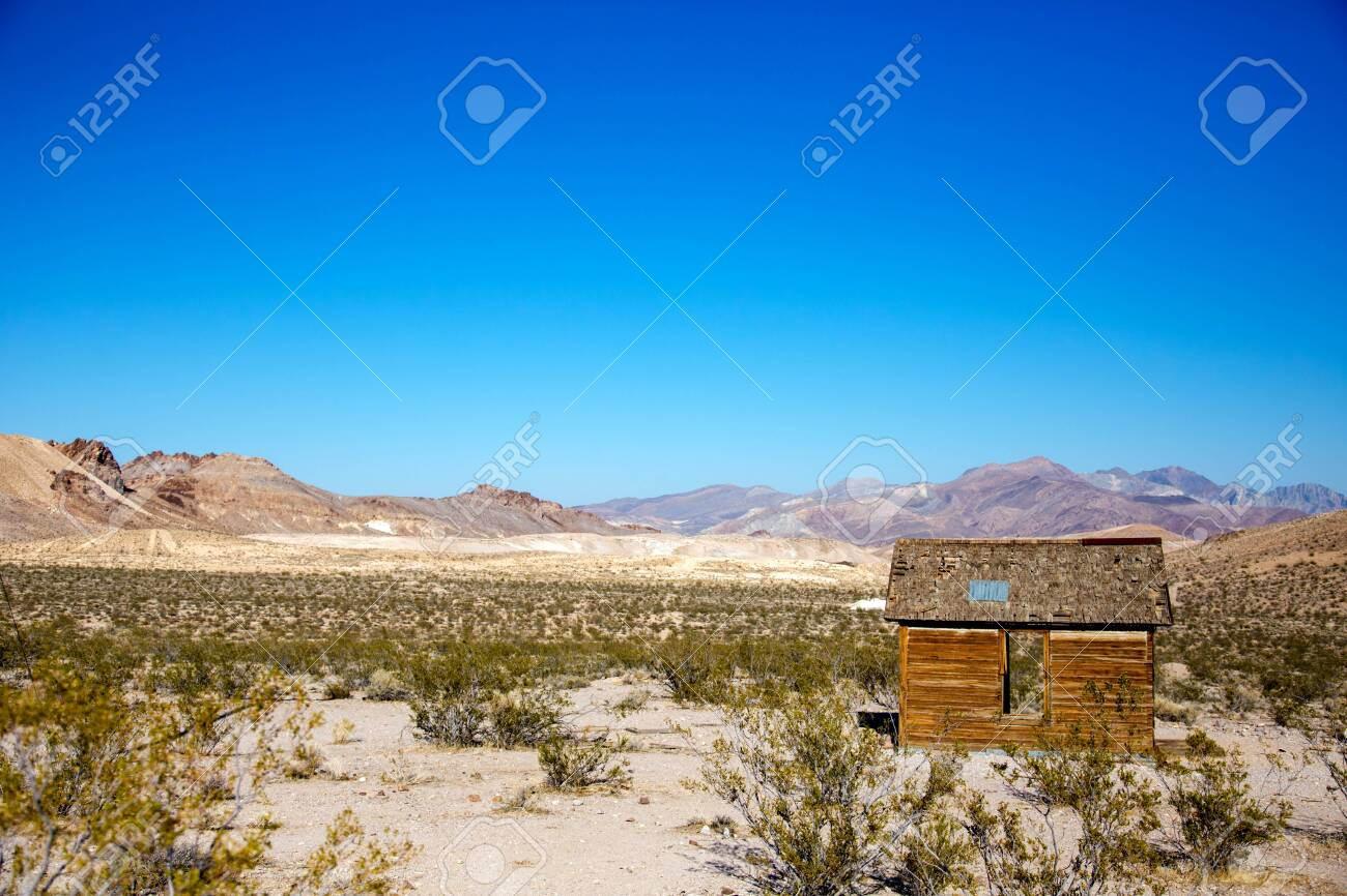 Rhyolite is a ghost town in Nye County, in the U S  state of