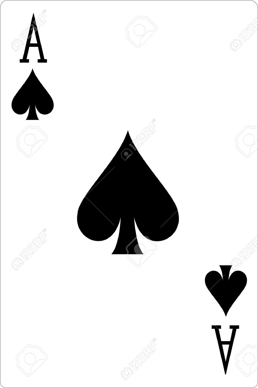 Ace of spades illustration stock photo picture and royalty free ace of spades illustration stock illustration 307187 biocorpaavc Choice Image