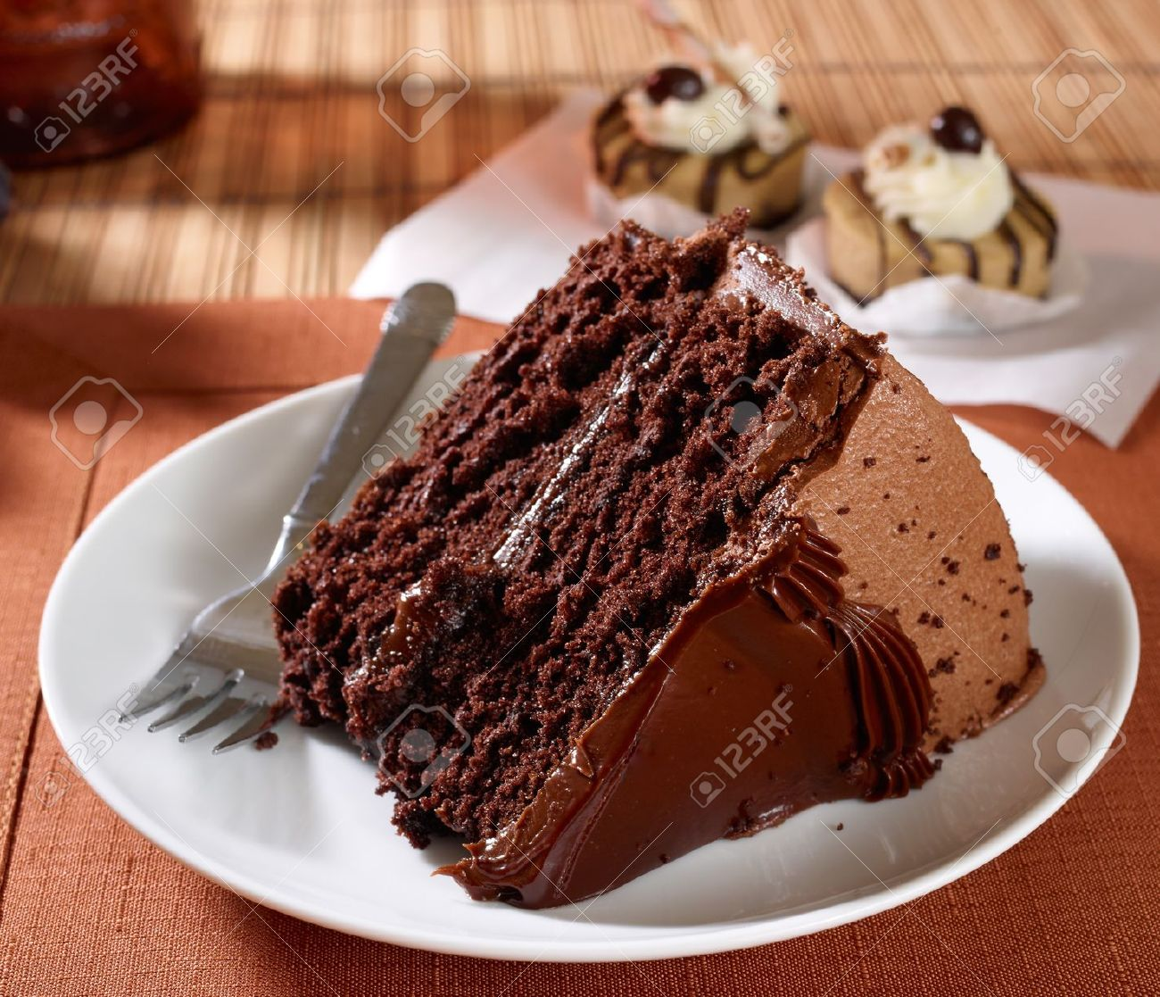 Moist Chocolate Cake Stock Photos & Pictures. Royalty Free Moist ...