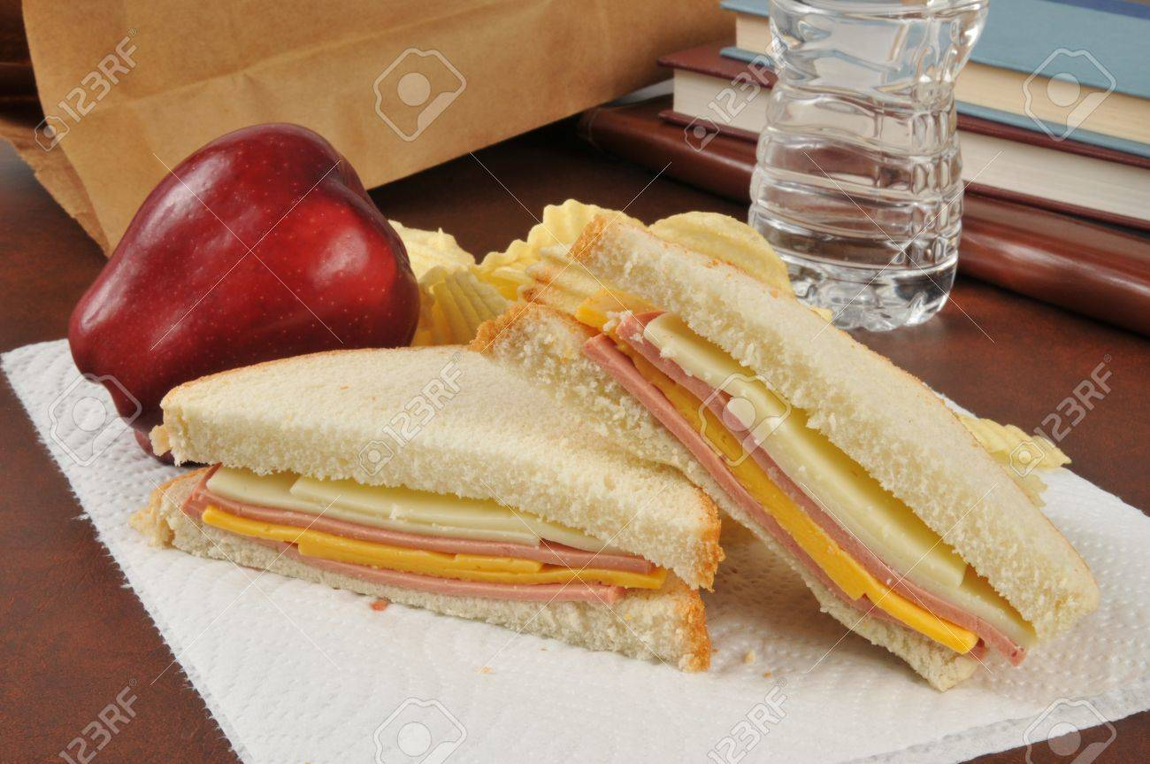 A Bologna And Cheese Sandwich Sack Lunch With An Apple Potato Stock Photo Picture And Royalty Free Image Image 21905682 A cold water sandwich is when hot water is coming from the tap and then it is suddenly interrupted by a momentary flow of cold water, followed by the continuation of hot water flow. a bologna and cheese sandwich sack lunch with an apple potato