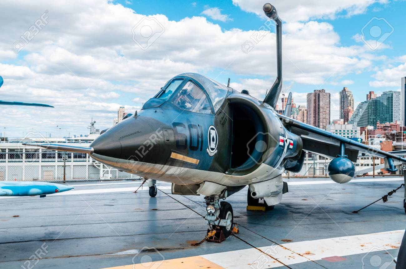 intrepid museum aircraft jets stock photo picture and royalty