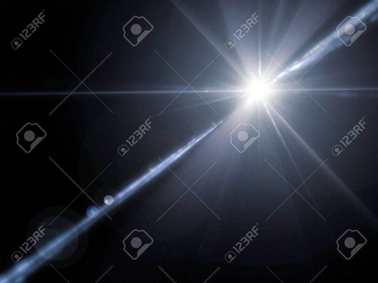 An illustration of a powerful lens flare Stock Photo - 3353764