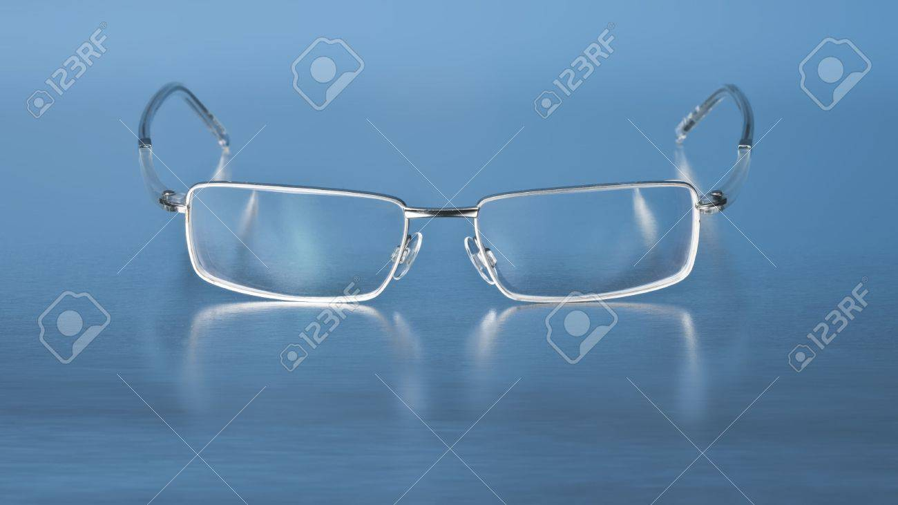A photography of a modern eye glasses Stock Photo - 4674326