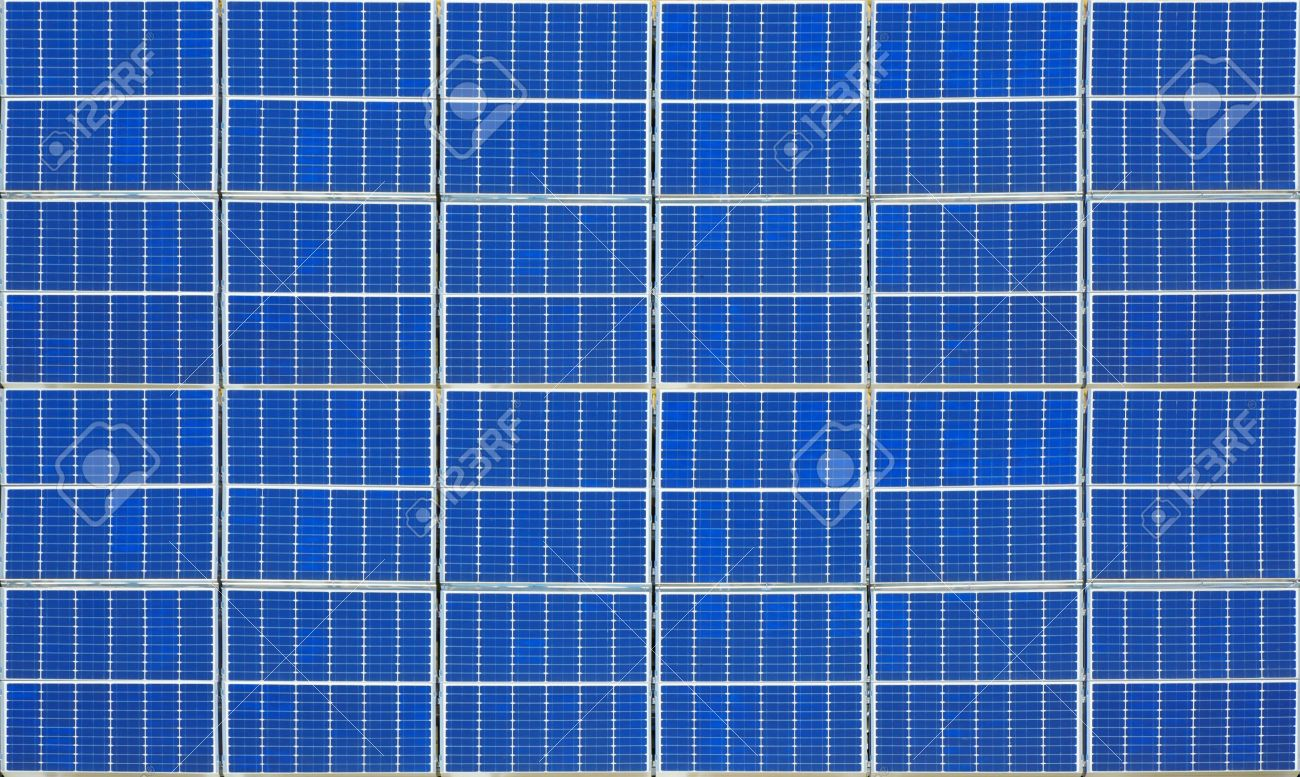 An image of a nice solar panel texture Stock Photo - 7133966
