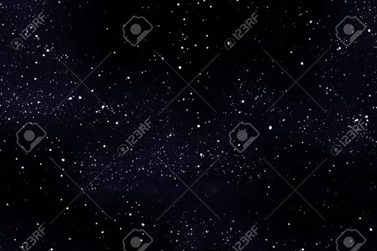 an image of a high detailed starfield background stock photo