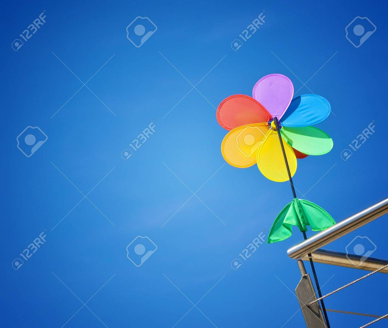 An image of a nice colorful wind game Stock Photo - 7429116