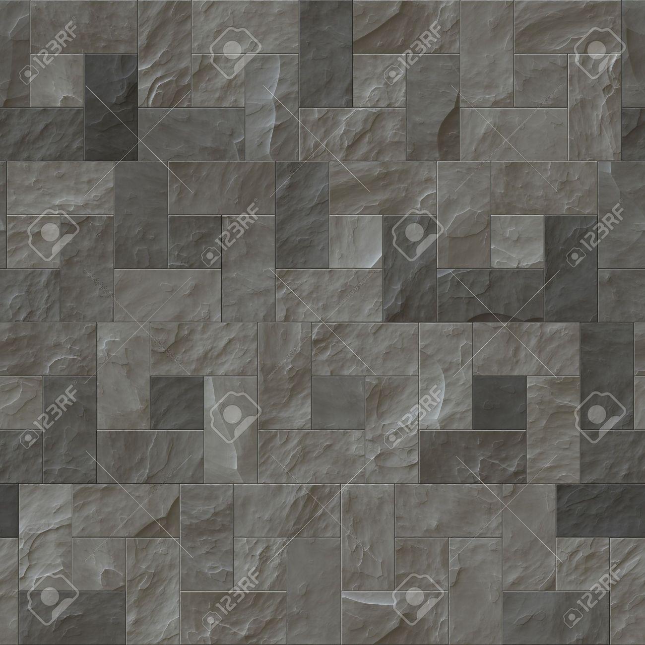 Fliesen textur grau  Eine Schöne Nahtlose-grau-Schiefer Bodenbelag Textur-Hintergrund ...